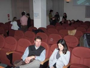 Lecture theatre.