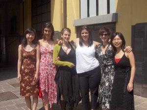 The women graduates.