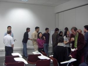 Lecture theatre in Domus.