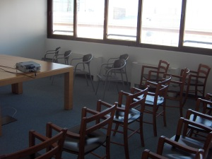 Presentation room.